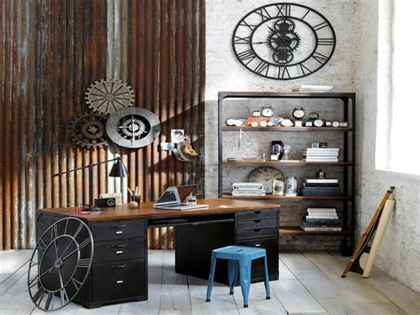 industrial home decor ideas bloombety industrial interior design ideas home office