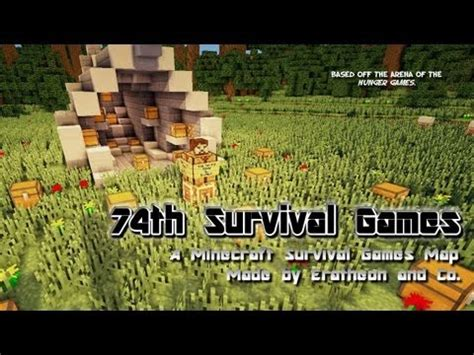 minecraft hunger games themes ideas 74th survival games minecraft project