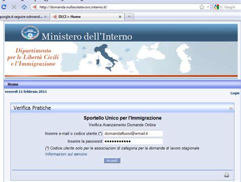 ministero dell interno immigrazione sanatoria immigrazione biz speciale regolarizzazione emersione