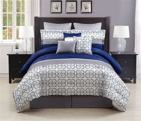 navy and gray bedding blue gray comforter set awesome blue gray comforter set