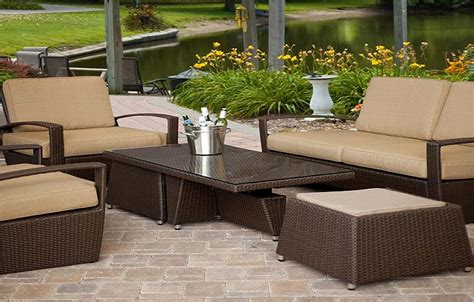 resin wicker patio furniture clearance wicker patio
