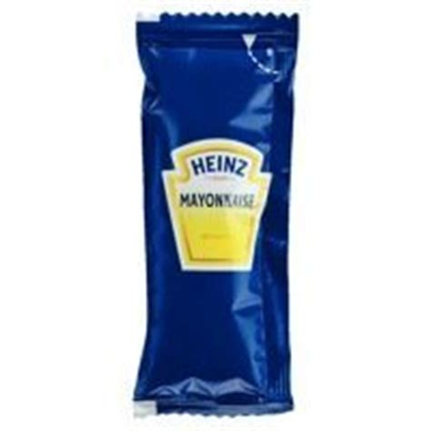 Mayonaise Sachet heinz mayonnaise 50x12g sachets co uk grocery