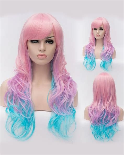colored wigs colorful costume wigs lace front wig secret