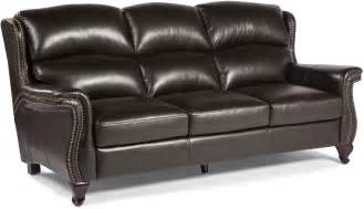 Mocha Leather Sofa Bendell Mocha Leather Sofa From Lazzaro Coleman Furniture