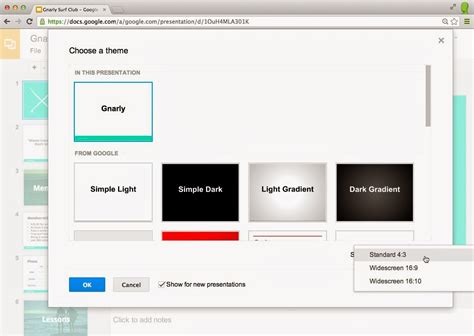 themes on google slides app google slides get editable themes and widescreen presentations