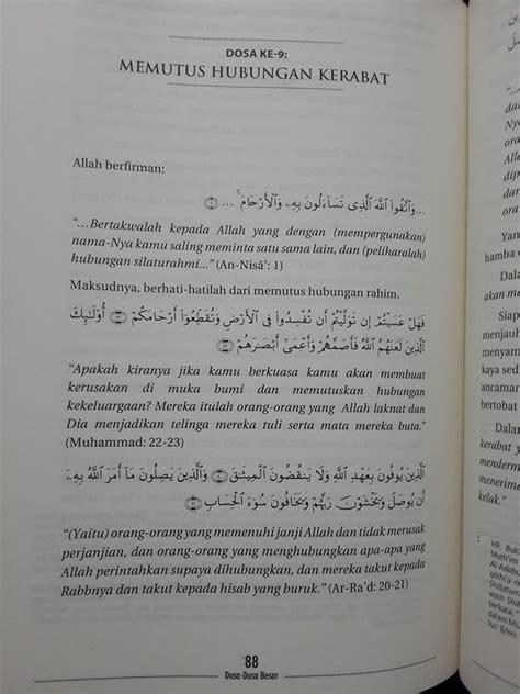 buku al kabair dosa dosa besar toko muslim title
