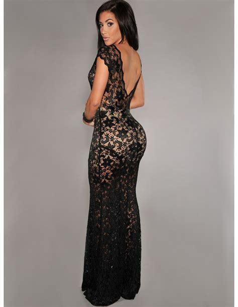 vestidor largos vestido largo de encaje fiesta vl107