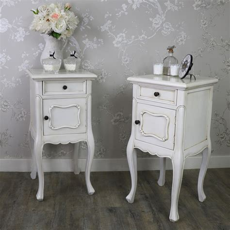 Vintage Bedside Tables Set Of 2 Antique Vintage Bedside L Tables Limoges Range Melody Maison 174