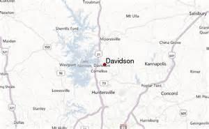 davidson carolina map davidson location guide