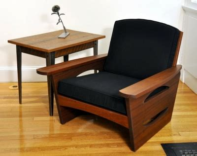 Handmade Furniture Vermont - mid century lounge chair dorset custom furniture dan