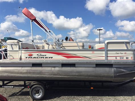 2006 pontoon boat for sale 2006 used sun tracker party barge 18 signature series