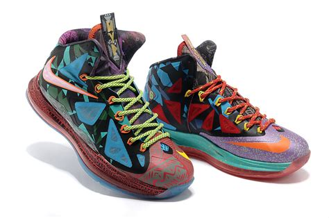 colorful nike basketball shoes nike lebron 10 x basketball shoe colorful world nike