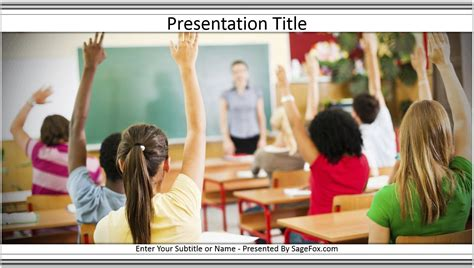 Powerpoint Templates Free Classroom Images Powerpoint Template And Layout Classroom Powerpoint Templates