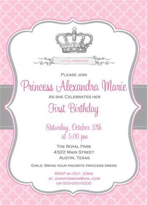 princess crown invitation template birthday invitation princess crown for by