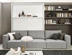 Bedroom Wall Unit Transformable Murphy Bed Over Sofa Systems That Save Up On