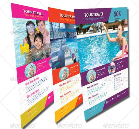 travel flyer template 42 free psd ai vector eps
