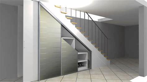 wandschrank unter treppe cabinet einbauschrank zur nutzung stauraum unter einer