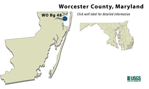 maryland aquifer map worcester county md confined aquifer water