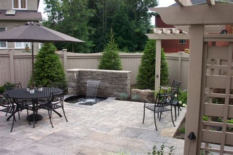 Oasis Patio Toronto by Tranquil Oasis Backyard Landscape Richmond Hill