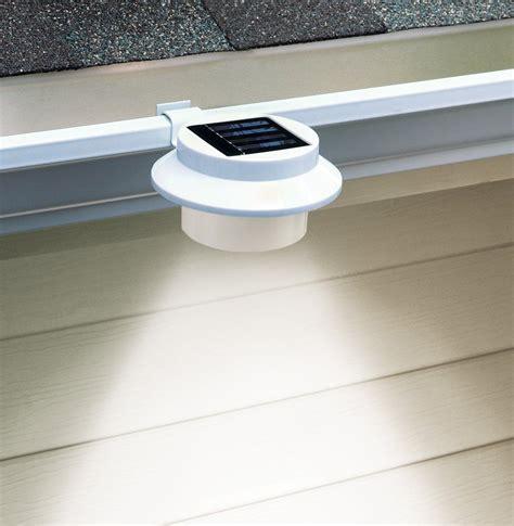 gutter solar lights amazon solar led gutter safety light on amazon com i d to