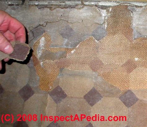 Asbestos Sheet Flooring Identification by Questions Answers About How To Identify Floor Tiles Or