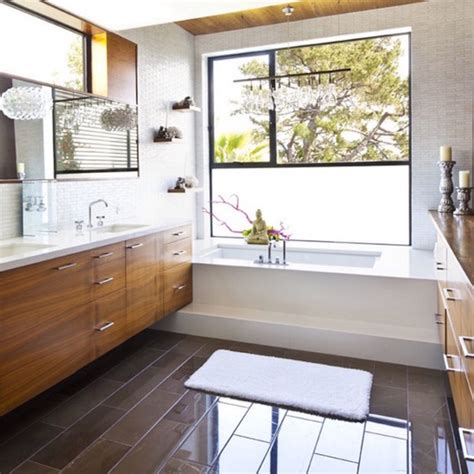 bathtub window 7 different bathroom window treatments you might not have