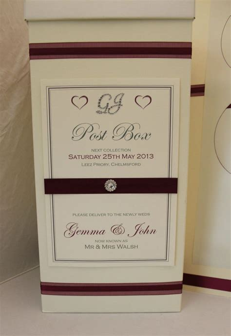 wedding post box diy details about personalised wedding post box sign wedding