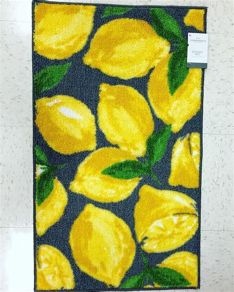 lemon rug lemon kitchen rug rugs ideas