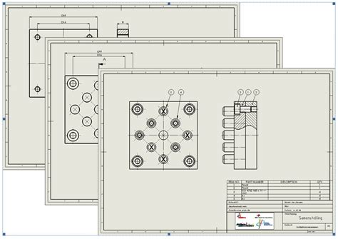 solidworks tutorial blueprints solidworks tutorial 6 drawings of the tic tac toe game