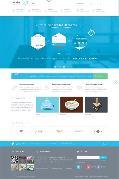 themeforest wordpress theme tutorial themeforest glider clean powerful flat stylish