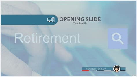retirement powerpoint template powerpoint templates free retirement choice image