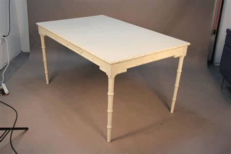 chippendale dining room table chippendale style painted dining table with faux bamboo accents at 1stdibs