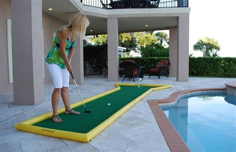 backyard miniature golf backyard mini golf dwelling pinterest