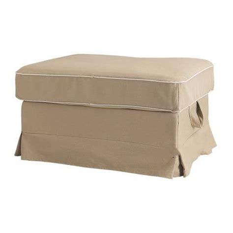 ektorp ottoman cover ikea ektorp bromma footstool slipcover cover idemo beige