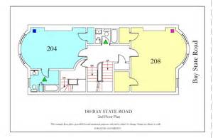 Bu Housing Floor Plans by 180 Bay State Road 187 Housing Boston University