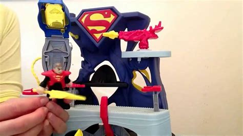 batman toy house superman toy imaginex batman and robin toy youtube