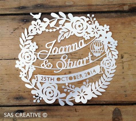 paper cutting wedding invitations 50 sale silhouette cameo svg wedding day wedding anniversary papercutting template design