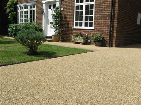 resin bound gravel driveway resin bonded natural stone hermitage driveways