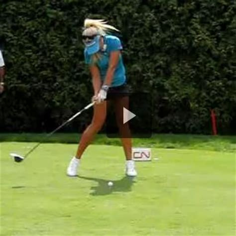 swing golf slow motion natalie gulbis slow motion driver http www powerchalk