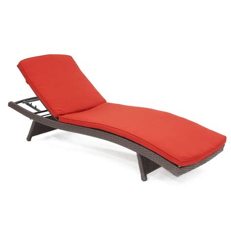chaise red dark red chaise lounger cushion