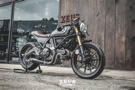 Triumph Motorrad Customizing by Custom Ducati Scrambler By Zeus Custom Bikebrewers