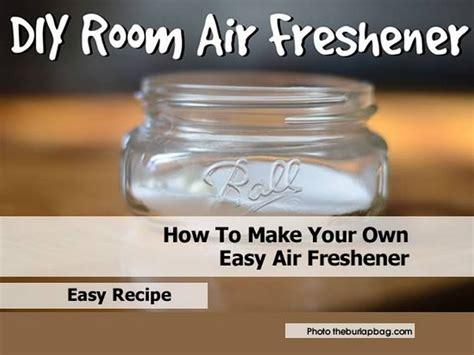 room freshener recipe how to make your own easy air freshener