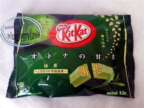 Kitkat Rich Matcha japan nestle kit matcha green tea chocolate sweet snack