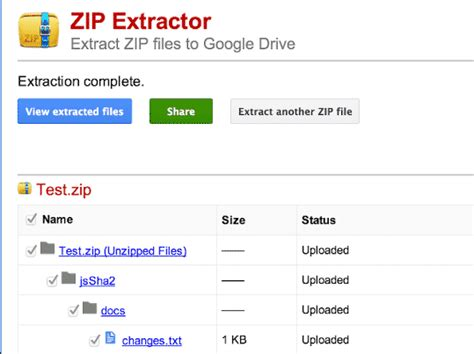 chrome zip extractor app zip extractor for chrome extracts files in google