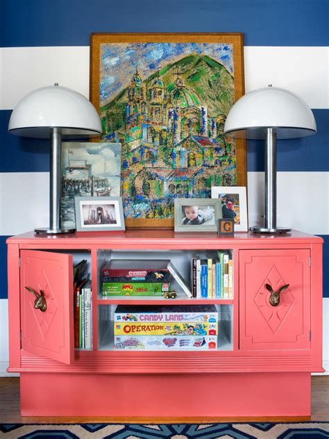 Storage Solutions For Toys In Living Room by Turn An Dresser Into Playful Storage Hgtv