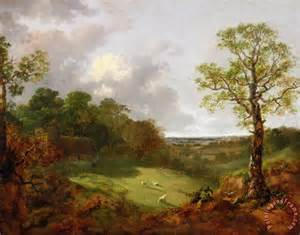 gainsborough wooded landscape with a cottage