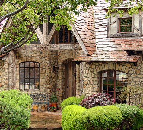 What Makes A House A Tudor The Fairytale Cottages Of Carmel Stone House Was Built