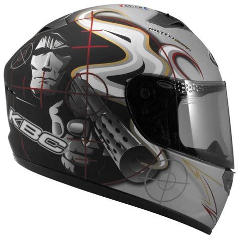 Kbc Vr Eye Helm White kbc vr 2 helmet gun duo silver black