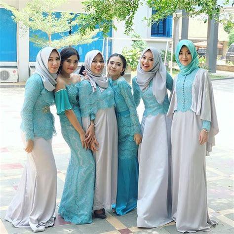 Kebaya Muslim Untuk Perpisahan Sekolah 17 koleksi model baju dress muslim terbaru yang lagi trend