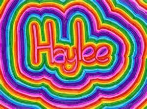 haylee colouring pages